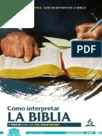 Guía de Estudio de la Biblia Adultos-Maestro (Abril-Junio 2020)