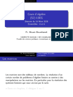 Cours d'algèbre (S2) LSEG - Séances du 16 Mars 2020 Ensembles _ 8 et 9