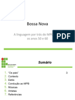 Trabalho de Português - Bossa Nova