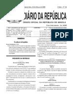 2020 DRI 036 (IL) Regulamento Covid 19