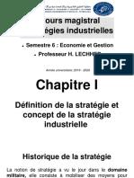 60qYb-Chapitre I - Stratégies Industrielles