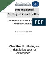 62YYF-Chapitre III - Stratégies Industrielles