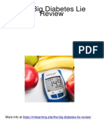 The Big Diabetes Lie Review PDF