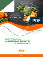 """""""Guia Para Uma Alimentação Saudável"""" da Associação Brasileira de Nutrição (Asbran)"""