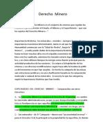 Derecho Minero - Unidad 4