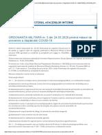 ORDONANȚA MILITARĂ nr. 3 din 24.03.2020 privind măsuri de prevenire a răspândirii COVID-19 – MINISTERUL AFACERILOR INTERNE.pdf