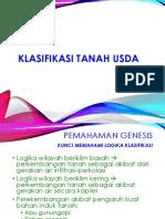 Klasifikasi Tanah USDA