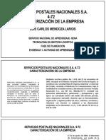 Caracterizacion de la empresa- Act 7- Ev 1- Luis Mendoza