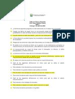 TALLER DE OFERTA Y DEMANDA 2020-1