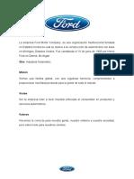 Ford Motor Company - Daniel Ruiz Rivera.docx