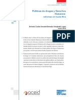 Políticas de drogas y Derechos Humanos en Costa Rica