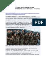 GUERRA CHIMICA E BATTERIOLOGICA, ULTIMA FRONTIERA DELL'ORRORE- armi di distruzione di massa.pdf