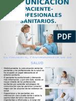 COMUNICACIÓN PACIENTE-PROFESIONALES SANITARIOS