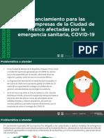 Microcreditos Cdmx Fondeso 2020