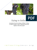 Dying to Reflect - Gavin Anthony
