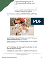 10 Dinámicas de Inteligencia Emocional para Niños y Adultos - Lifeder.pdf