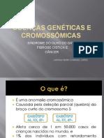 Doenças Cromossômicas e Genéticas Ciências 1