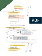 Cálculo de triangulación y su procedimiento