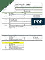 agenda 2020 - CTPP