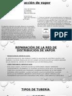 Reparación de La Red de Distribución de Vapor Avance de Tarea