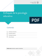 Escenario 2 Enfoques de la psicologia eductiva