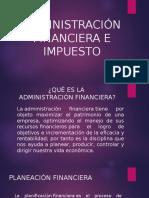11º ADMINISTRACIÓN FINANCIERA E IMPUESTO