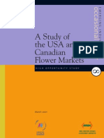 A Study of the USA and Canadian Flower Markets