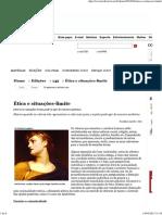 Revista Cult » Ética e situações-limite