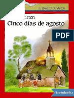 Cinco dias de agosto - Hester Burton.pdf