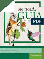 Libro_Ornitología una aproximación a las aves de los humedales_2018