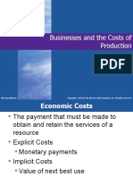 Chapter 7 Cost of Production (2)