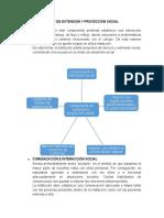 COMPONENTE DE EXTENSIÓN Y PROYECCIÓN SOCIAL