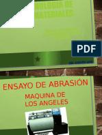 ABRASION Y SANIDAD DE LOS AGREGADOS