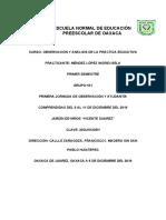 ESCUELA NORMAL DE EDUCACIÓN PREESCOLAR DE OAXACA