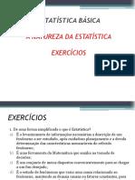 Capítulo I - A Natureza da Estatística - Exercícios.pdf