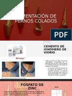 CEMENTACIÓN DE PERNOS COLADOS.pptx