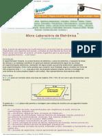 (2) PROJETOS DE ELETRÔNICA - MICROLABORATÓRIO - FEIRA DE CIÊNCIAS ... O Imperdív