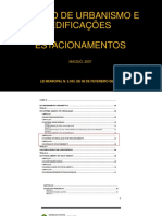 CÓDIGO DE URBANISMO E EDIFICAÇÕES maceió