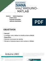 INTERFAZ ARDUINO-MATLAB