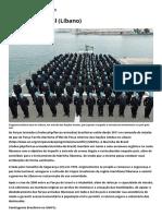 O Brasil na Unifil (Líbano) - Ministério da Defesa