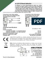 LD12 - detector de inundatie