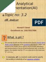 3.2  pH analyzer