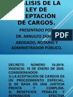 Ley de Aceptación de cargos.pptx