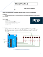 Practica 2 LED Secuenciales