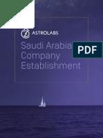 Saudi Arabia Company Establishment