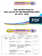 ACTION PLAN (GSP) 2019-2020