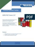 TDS NORD TEST U 87 english
