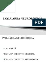 Curs 1.1. Evaluare Neurologica