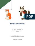 proiect ds1 - lupul si vulpea