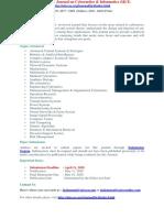 International Journal on Cybernetics Amp Informatics IJCI (1)